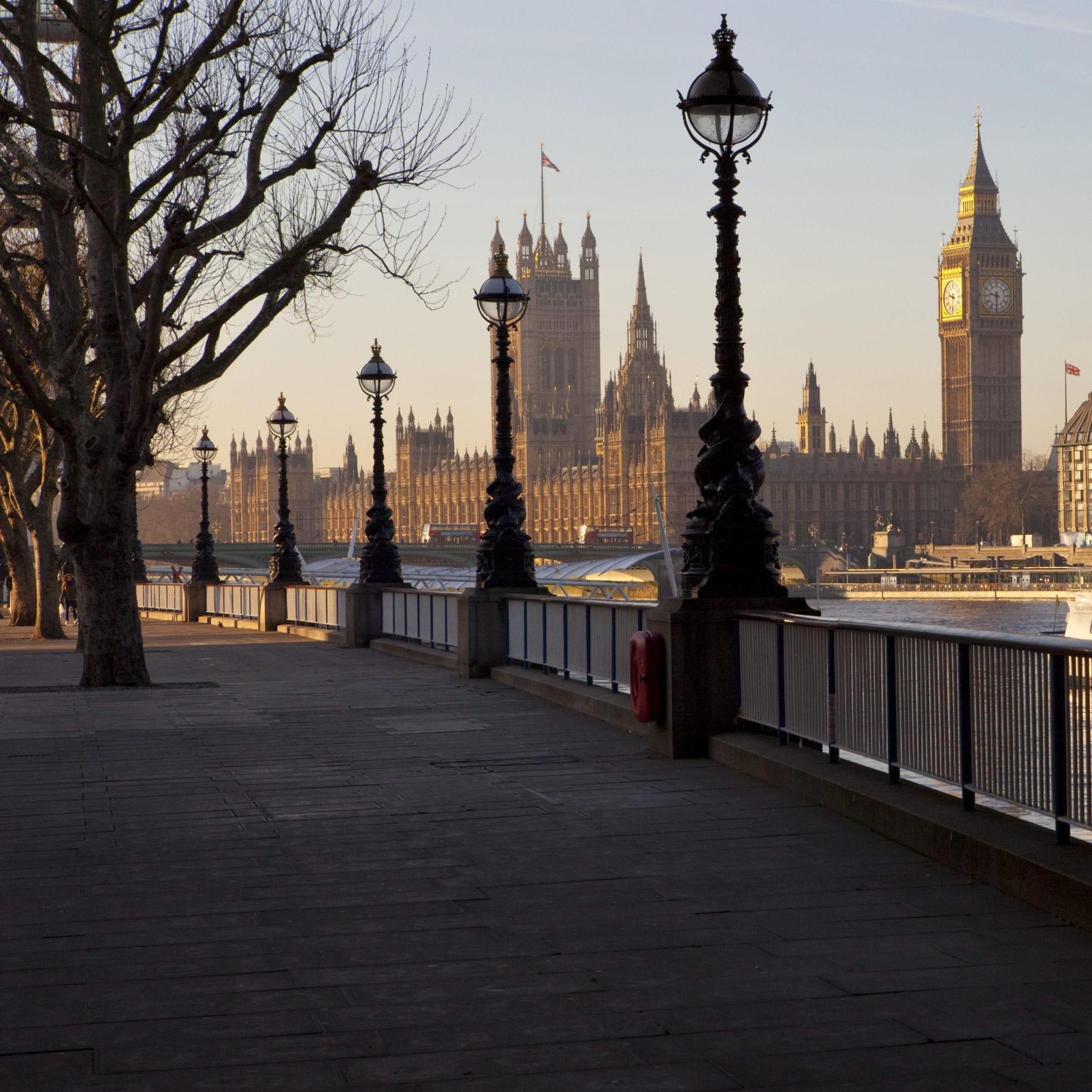 London Southbank Walk